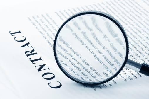 event planners contract clauses
