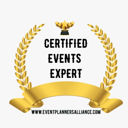 Certified event planner seal
